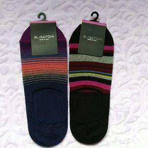 Men's Bugatchi No Show Socks